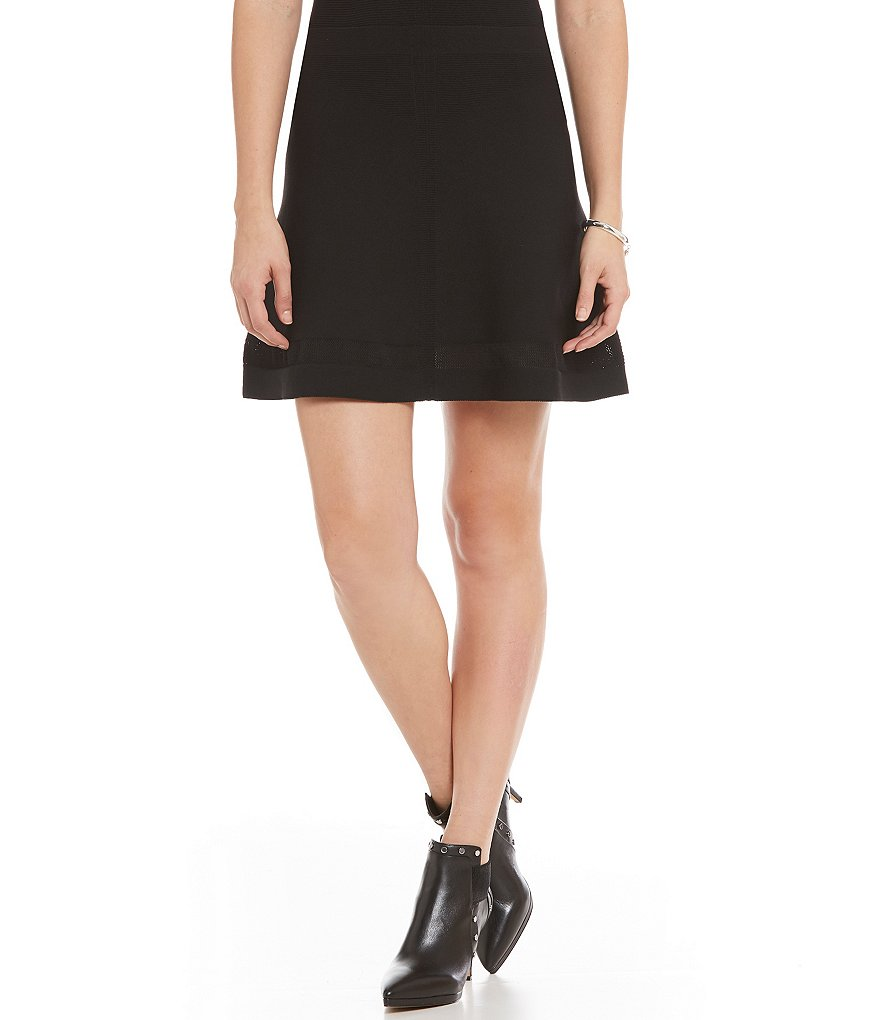 Armani Exchange Stretch Knit Mini Skirt