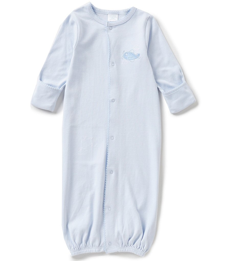 Edgehill Collection Baby Boys Newborn-6 Months Plane Gown