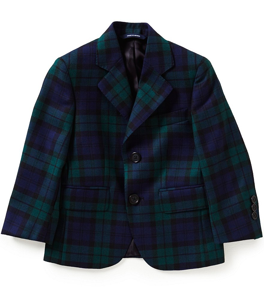 Brooks Brothers Little/Big Boys 4-20 Blackwatch Plaid Jacket