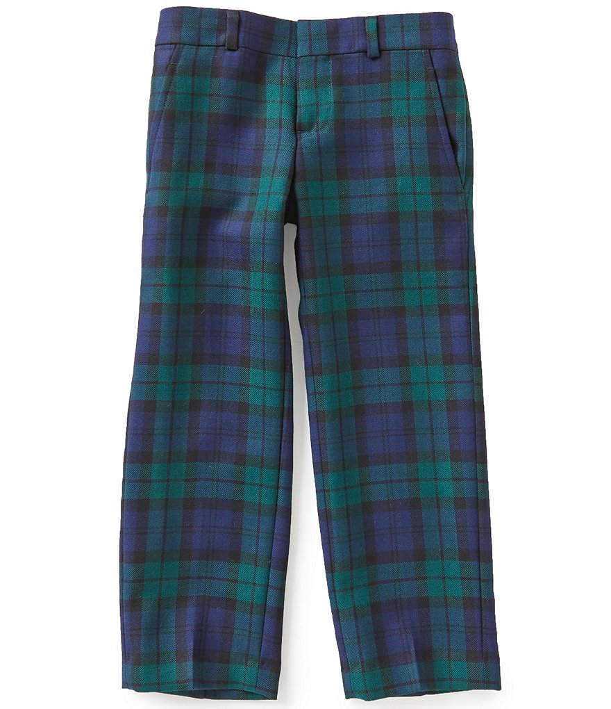 Brooks Brothers Little/Big Boys 4-20 Blackwatch Plaid Pants