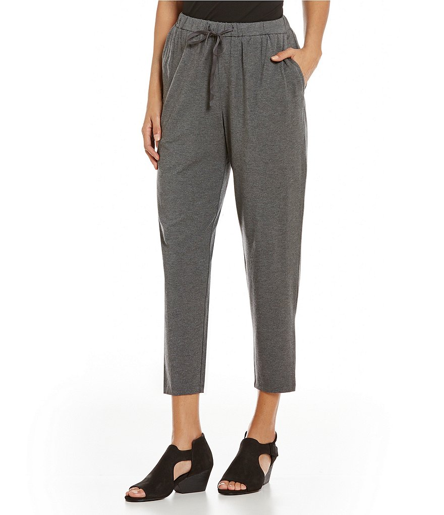 Eileen Fisher Petites Slouchy Ankle Pants