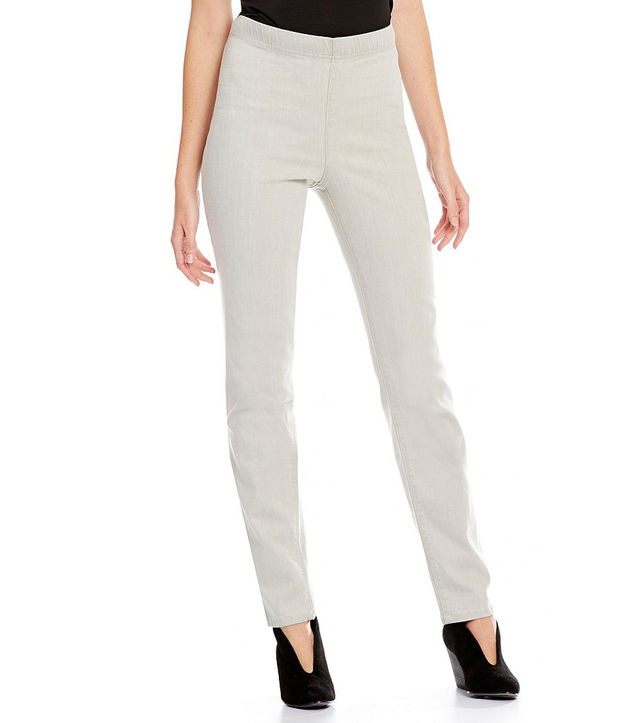 Eileen Fisher Petites Organic Cotton Slim Ankle Pant