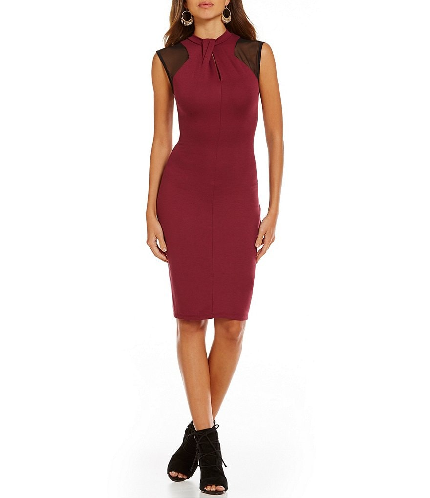 French Connection Tania Tuck Sleeveless Dress