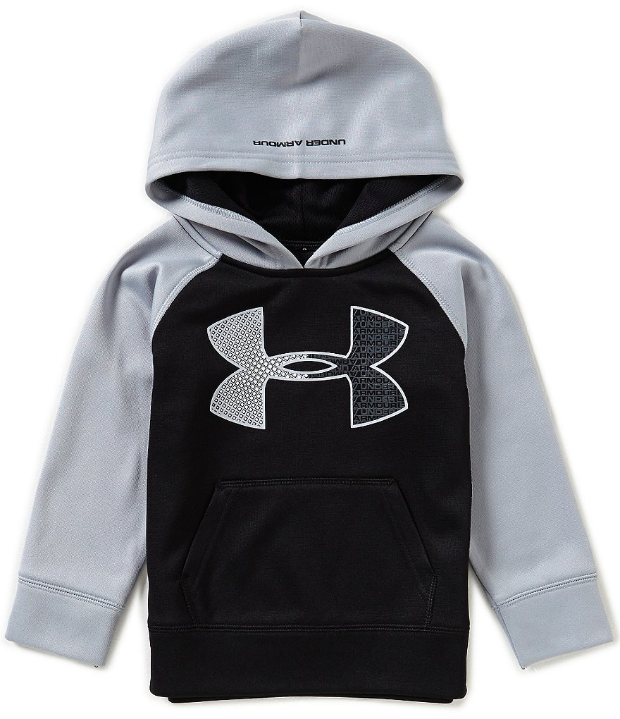 Under Armour Little Boys 2T-7 Big Logo Color Block Hoodie