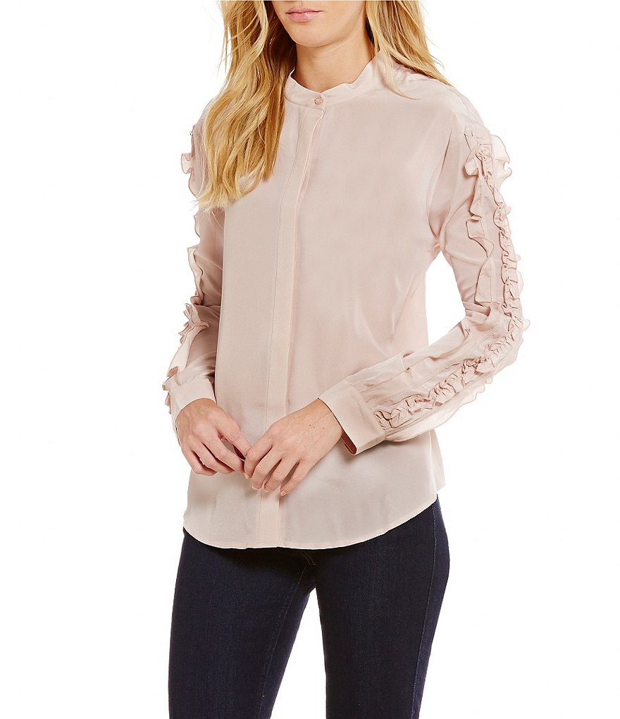 Guess Darling Ruffled-Sleeve Top
