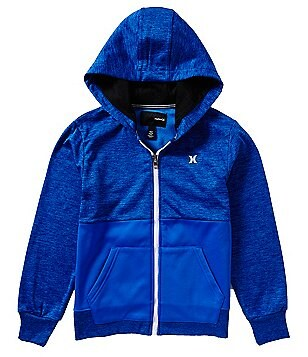 Hurley Big Boys 8-20 Therma-FIT Sunrise Hoodie