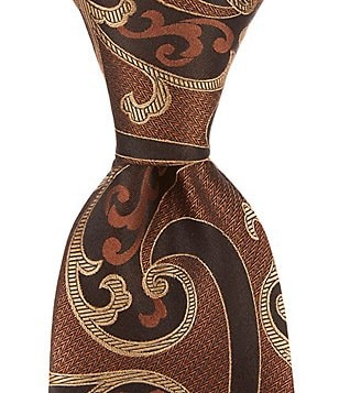 Murano Magic Paisley Traditional Silk Tie