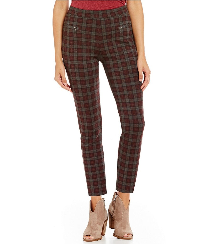 Chelsea & Violet Plaid Leggings