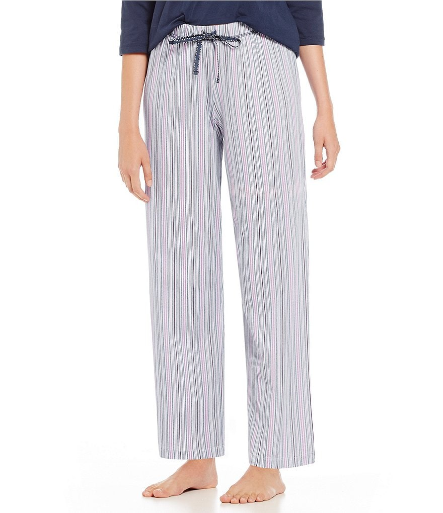 Karen Neuburger Urban Safari Striped Pajama Pants