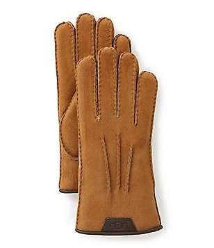 UGG® Sheepskin-Lined Leather Gloves