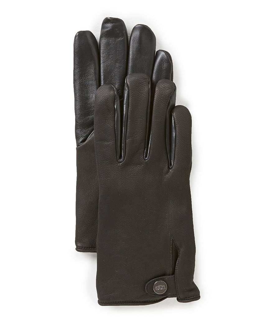 UGG® Smart Gloves with Faux-Fur Lining