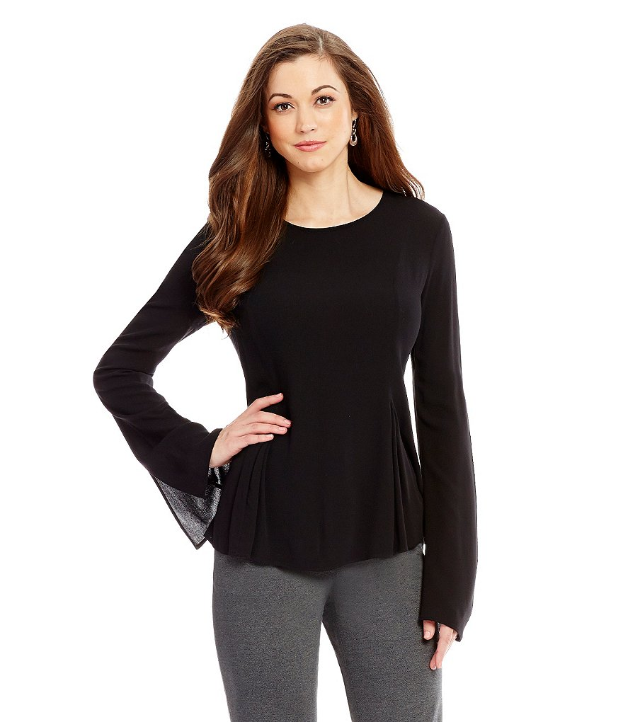 Antonio Melani Princess-Slit Sleeve Piper Blouse