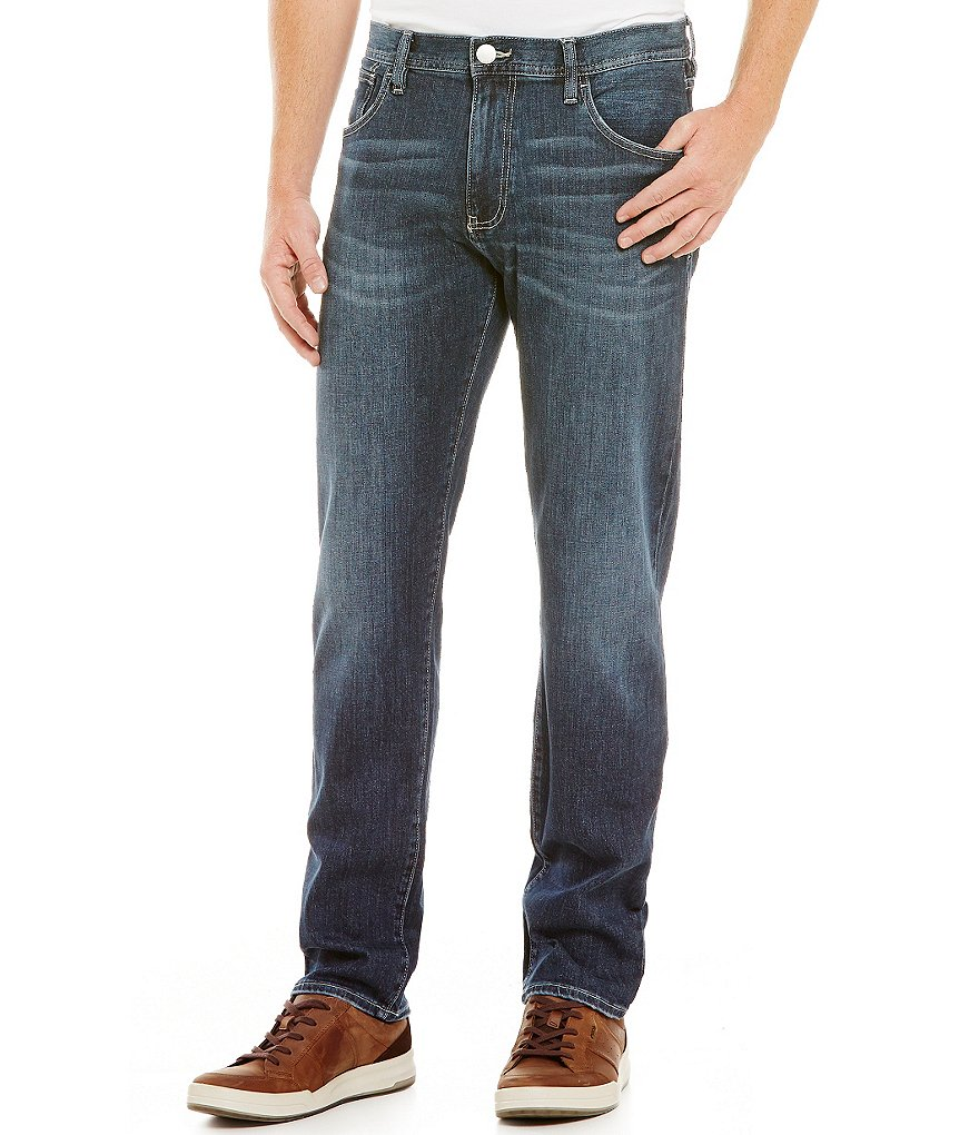 Armani Exchange Relaxed Straight-Fit Jeans