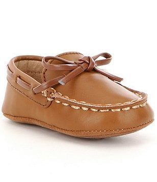 Kenneth Cole New York Boy´s Baby Leather Slip-On Stitched Boat Shoes