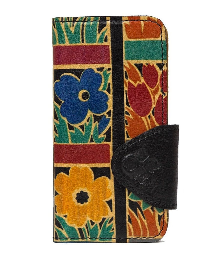 Patricia Nash Floral Squares Collection Fiona iPhone 6 Wallet
