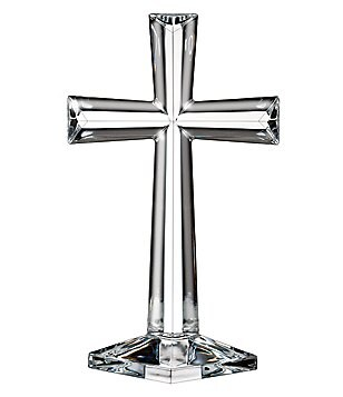 Marquis by Waterford Selah Crystal Standing Cross