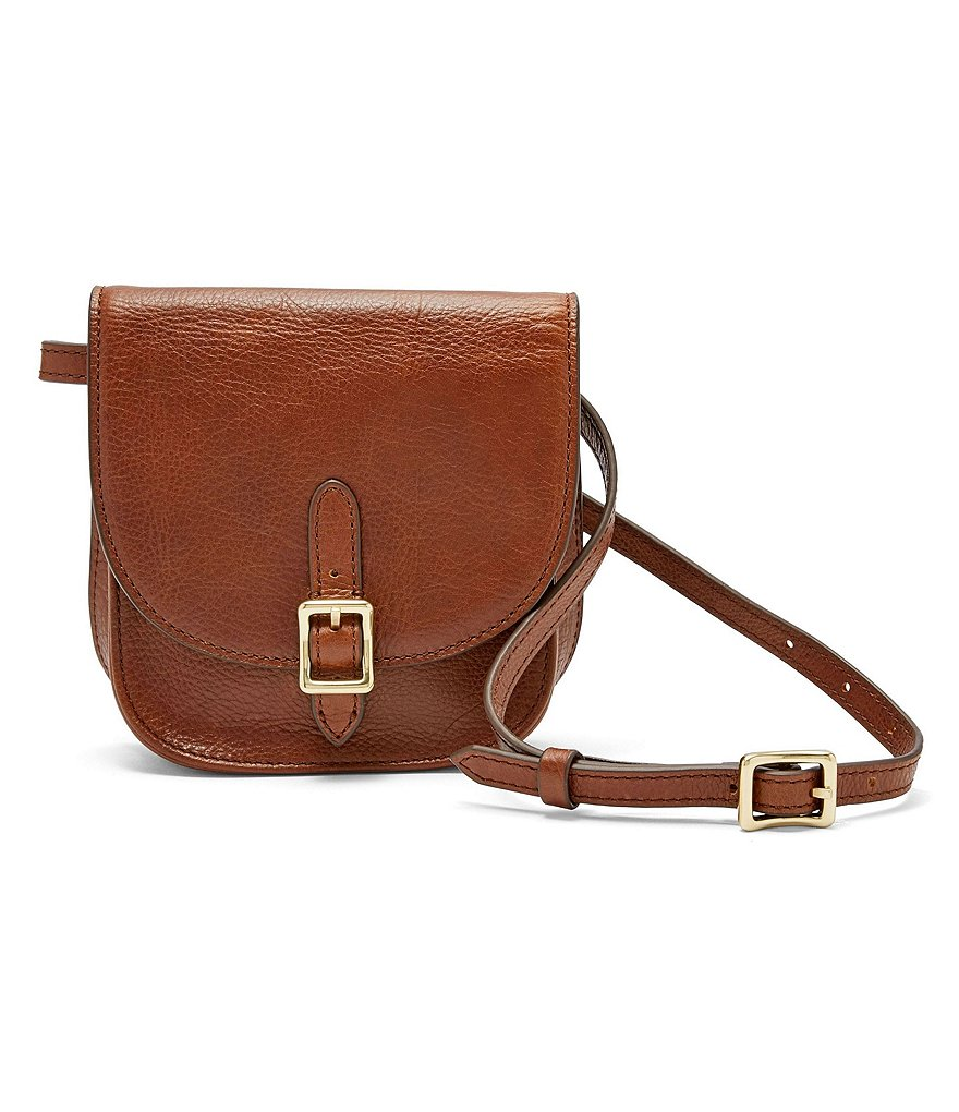 Fossil Saddle Belt Bag