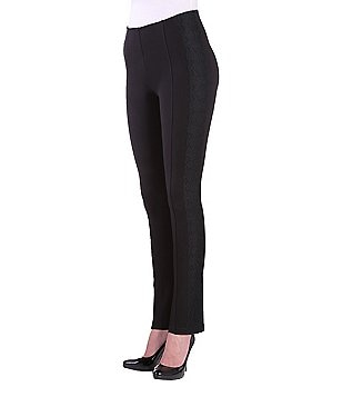 Peter Nygard Slims Petite Luxe Lacey Ankle Pants