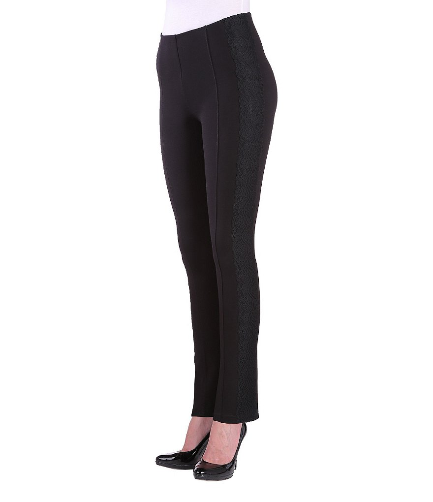 Peter Nygard Slims Luxe Lacey Ankle Pants