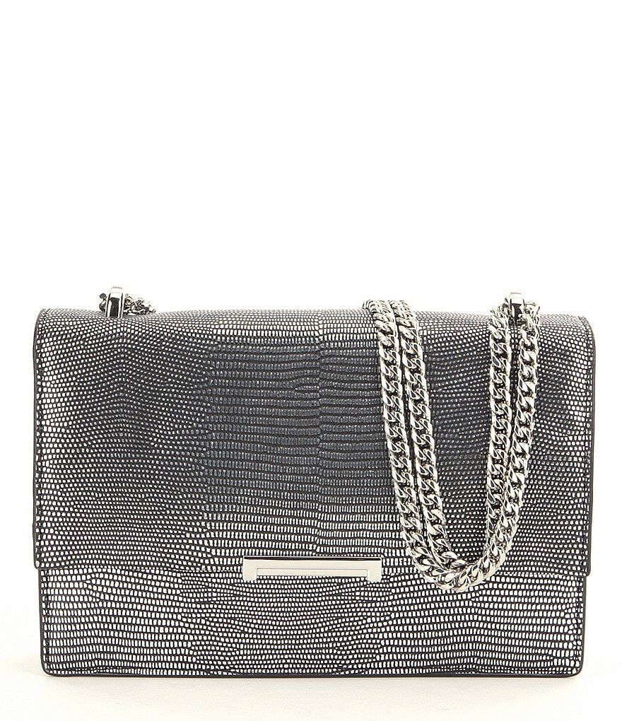 Ivanka Trump Mara Lizard Cocktail Bag