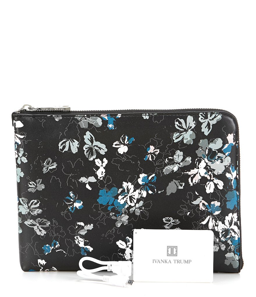Ivanka Trump Rio Floral Tech Clutch