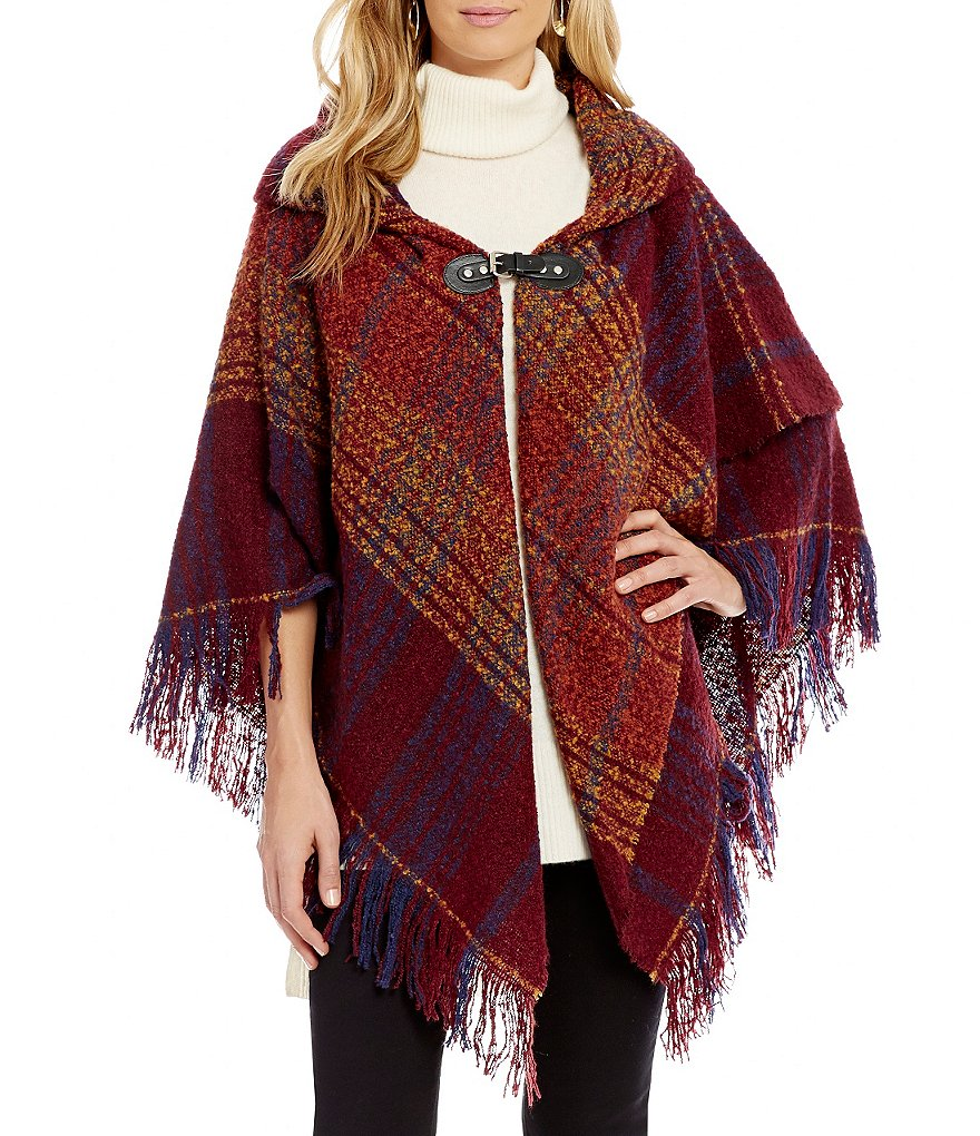 Collection 18 Off the Grid Poncho
