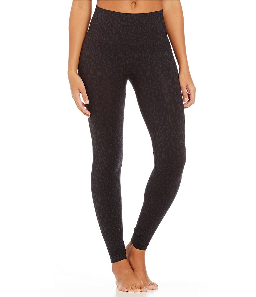 Spanx Seamless Cheetah-Print Ankle Leggings
