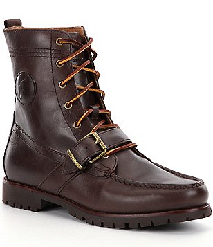 Polo Ralph Lauren Men´s Ranger Nubuck Buckle Boot