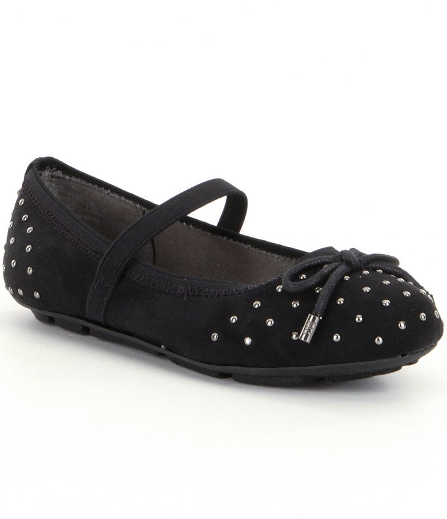 MICHAEL Michael Kors Girl´s Rover Lynn Bow & Embellished Mary-Jane Flats