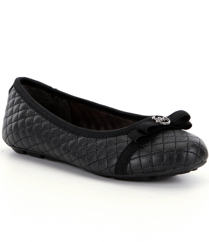 MICHAEL Michael Kors Girl´s Rover Lauri Quilted Ballet Flats