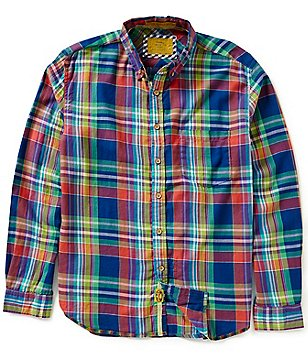 Vintage 1946 Yarn-Dyed Southern Plaid Shirt