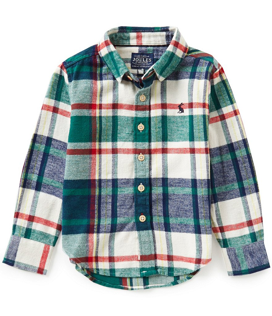 Joules Little Boys 3-6 Woven Top