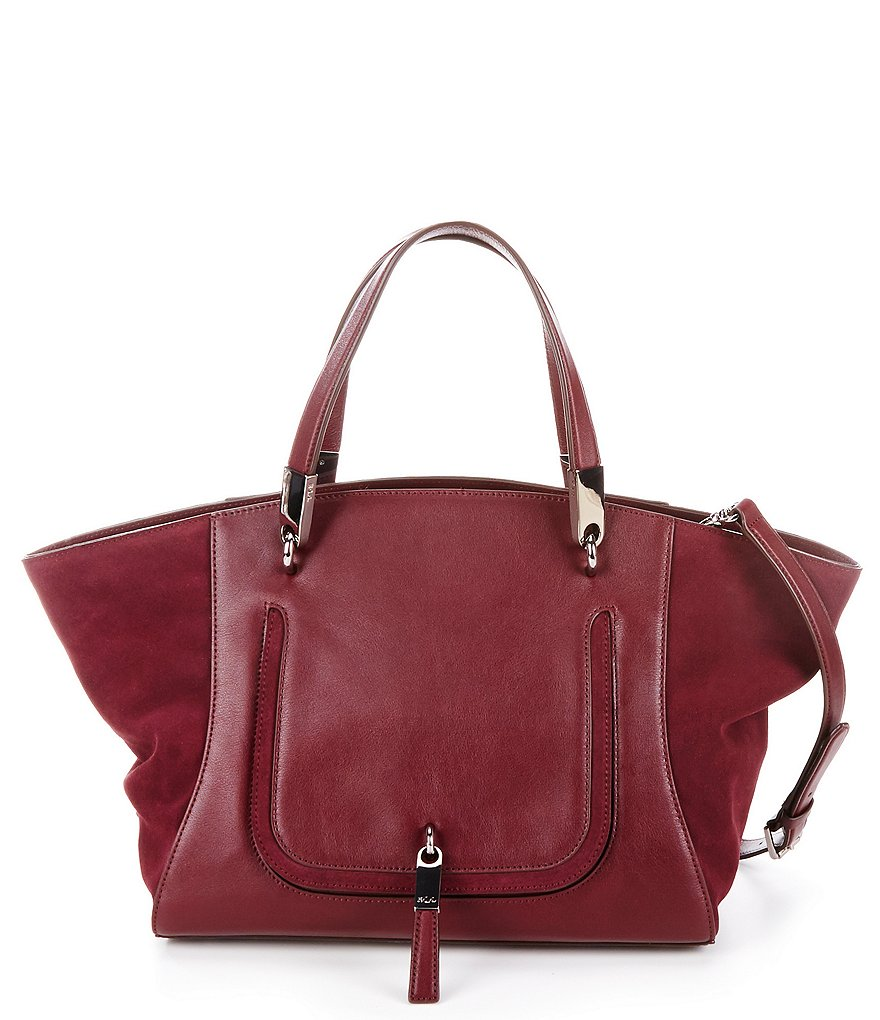 Lauren Ralph Lauren Berwick Collection Marley Satchel