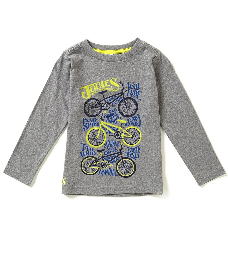 Joules Little Boys 3-6 Screen Print Top