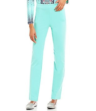 Ruby Rd. Pull-On Solid Stretch French Terry Pants