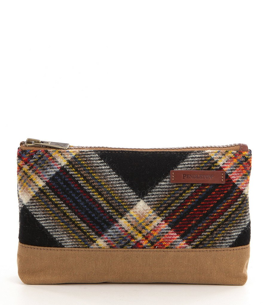 Pendleton National Park Collection Timberline Plaid Pouch