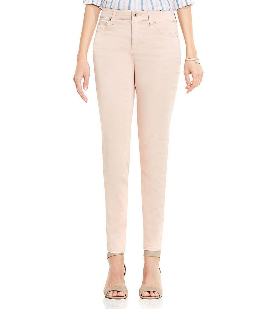 Two By Vince Camuto Stretch Sateen Color Skinny Jean