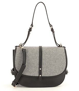 Steve Madden Mynes Flannel Saddle Bag