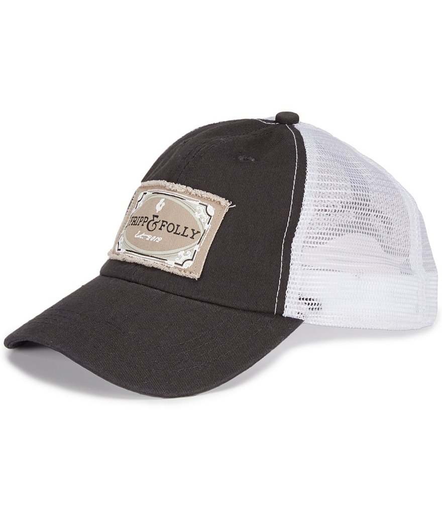 Fripp & Folly Logo Patch Mesh-Back Cap