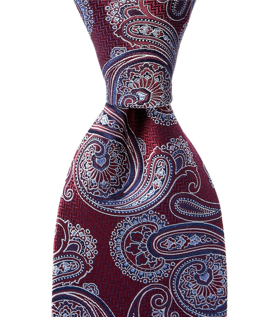 Cremieux Paisley Bloom Traditional Silk Tie