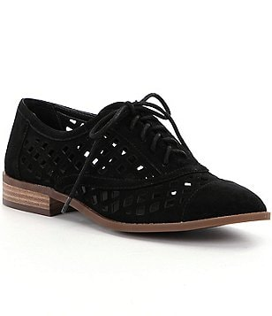 Jessica Simpson Dalasia Laser-Cut Oxfords