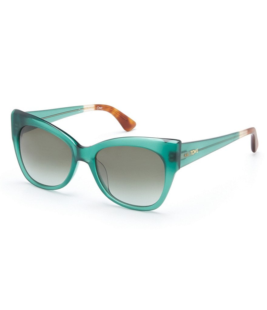 TOMS Autry Matte Gradient Cat-Eye Sunglasses