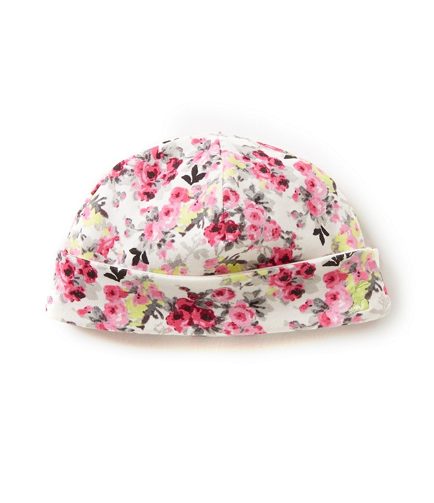 Joules Baby Girls Newborn-12 Months Baby Bonnet Reversible Jersey Hat