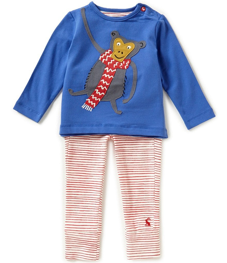 Joules Baby Boys Newborn-12 Months Jersey Top & Pants Set