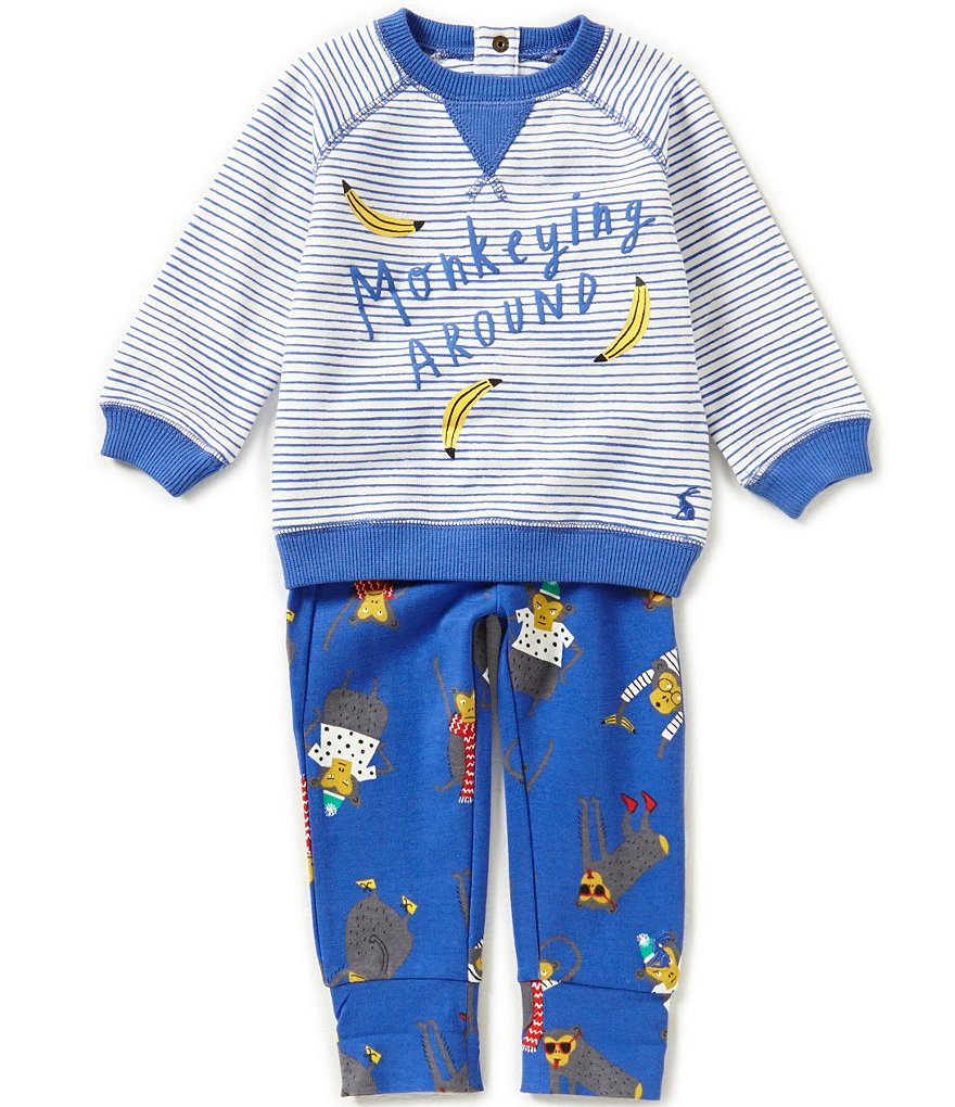 Joules Baby Boys Newborn-18 Months Sweater & Pants Set