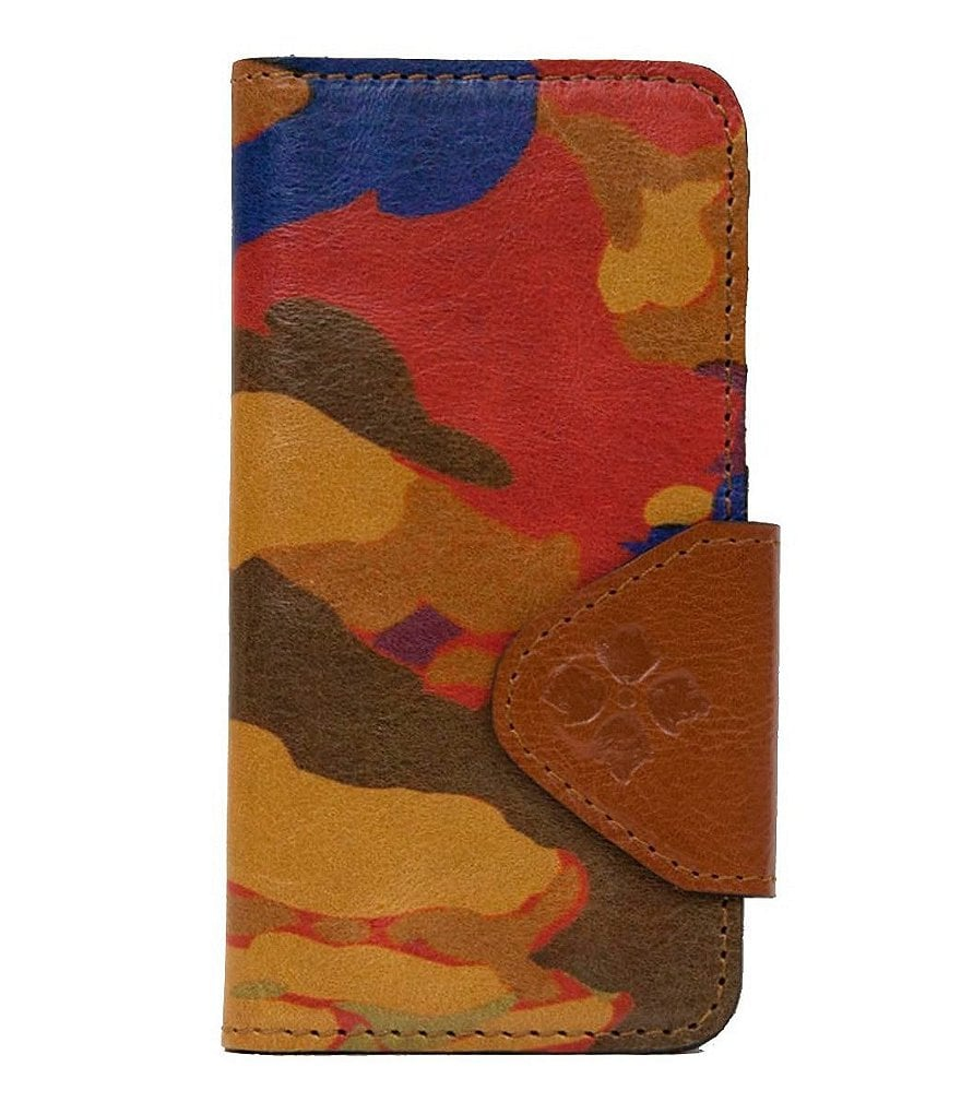 Patricia Nash Parisian Camo Collection Fiona iPhone 6 Wallet Case