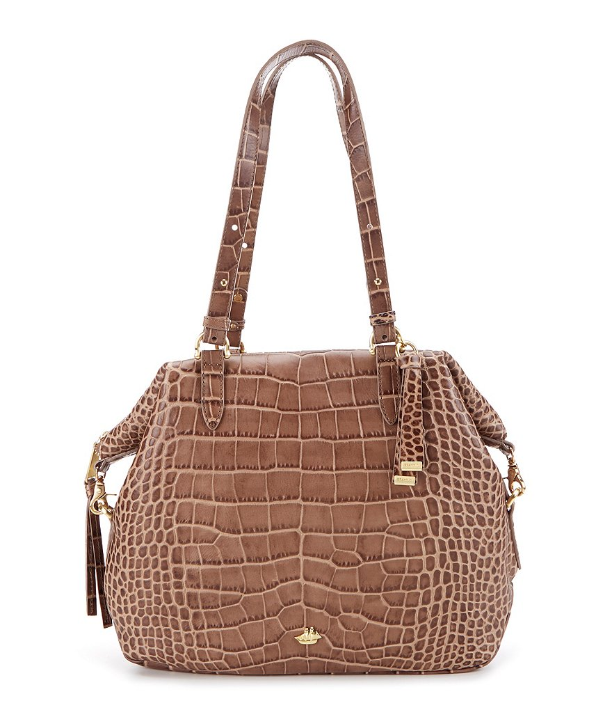 Brahmin Southcoast Savannah Collection Delaney Tote