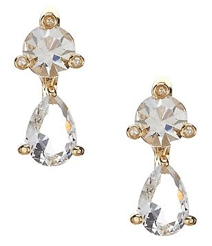 kate spade new york Shine On Double Drop Earrings