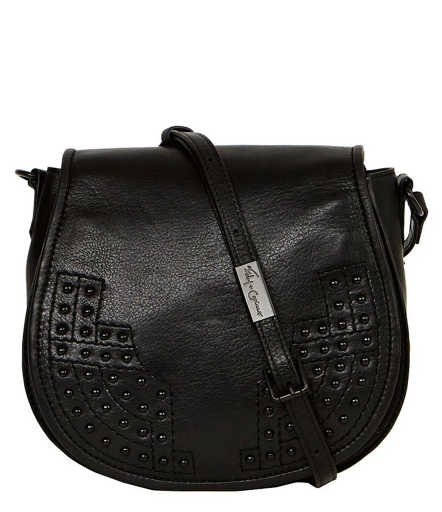 Foley & Corinna Stevie Studded Saddle Bag