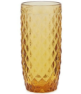 Southern Living Diamond-Cut Highball Glass